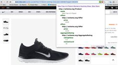 Nike Free Running Shoes from Nike Store. Described using HTML5 with Microdata based Structured Data Islands.   Hashtag: #RDF #SemanticWeb #SchemaOrg #HTML5 #Microdata