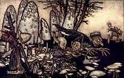 "New artwork for sale! - "" Workers by Arthur Rackham "" - http://ift.tt/2nGfj5u"