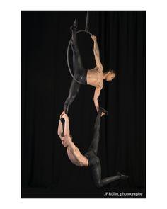 Duo Cerceau: Dom Taylor & Brandon Miyazaki www.facebook.com/... Circus Aerials, Aerial Hoop