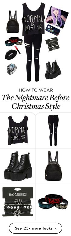 """Idk what to call it sowwy"" by bilansis on Polyvore featuring Miss Selfridge, STELLA McCARTNEY, Loungefly and Lime Crime"