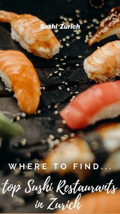Zurich, Food Pictures, Sushi, Yummy Food, Restaurant, Delicious Food, Restaurants, Dining Room, Good Food