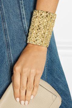 Jennifer Fisher | XL Braid gold-plated cuff