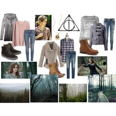 """Hermione Granger- Deathly Hallows Part 1"" by jukeboxkitty on Polyvore"