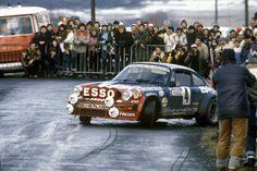 ra Guy Frequelin - Jean-François Fauchille-Porsche 911 Gr.4-Rallye Automobile de Monte-Carlo 1982