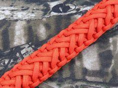 How to make a Single Strand Solomon Turkshead Paracord Bracelet Tutorial (Paracord 101) - YouTube