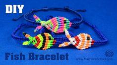 Colorful Fish Bracelet Tutorial
