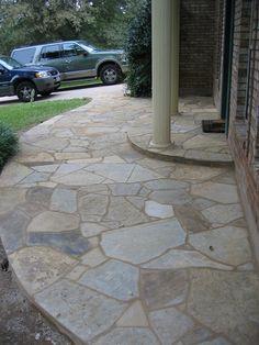 Concrete Patios, Flagstone Patio, Patio Diy, Pergola Patio, Backyard Patio, Patio Ideas, Gazebo, Patio Images, Patio Pictures