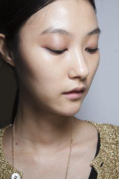 asianfemalemodels:  Ji Hye Park backstage at Damir Doma Spring 2014