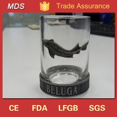 Check out this product on Alibaba.com App:Russian vodka rock beluga pewter aluminum label fish shot glass https://m.alibaba.com/y6byqa