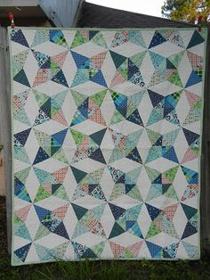 Kaleidoscope Quilt-Along by Don't Call Me Betsy - links to all of the quilt-along posts found here