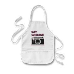 Say Cheese! Camera Aprons