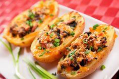 Southwestern Stuffed PotatoesReally nice recipes. Every  Mein Blog: Alles rund um Genuss & Geschmack  Kochen Backen Braten Vorspeisen Mains & Desserts!