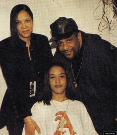 Aaliyah and Her Parents ❤️