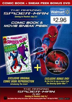 http://comics-x-aminer.com/2012/06/15/own-the-amazing-spider-man-wal-mart-unseen-footage-on-dvd-and-scene-details/#
