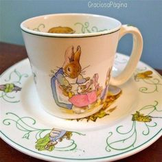 Peter Rabbit tea cup