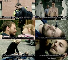 Falling in love with Paul Spector, The Fall