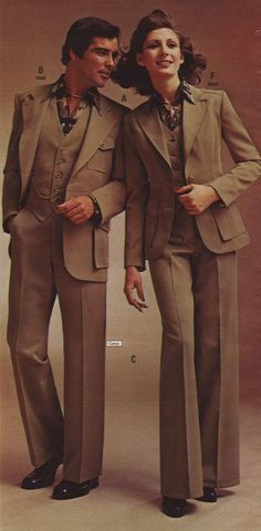 Fashion in the 1970s: Clothing Styles, Trends, Pictures & History. In grey would be lovely