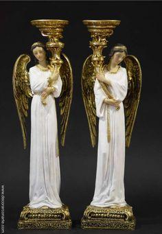 Arte Y Antigüedades Espejo De Pared Blanco Ovalado 45 X 38cm Barroca Antiguo Reproducción Vintage Low Price