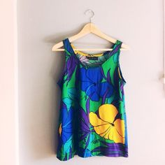 Tropical tank for summer- cute for work