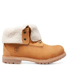 Timberland® Authentics Teddy Fleece Waterproof Fold-Down Boot Donna
