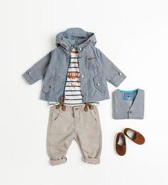 ZARA Kids - suspenders!