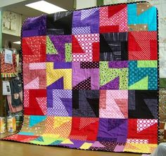 The Happy Scrappers met Wednesday at the Attic Window Quilt Shop .  Denice of Denice's Day  Blog, joined us and showed us this beautiful...