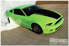 2013 Ford Mustang GT - The Green Goblin: The inside scoop on an amazingly quick, street-legal 5.0 Coyote Mustang