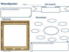 De woordposter kan zowel klassikaal als individueel worden ingezet. Zo kan bijv. elke leerling zijn eigen woordenboek maken.