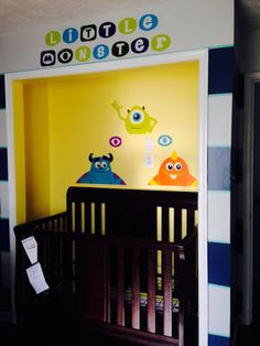 Monster Inc nursery
