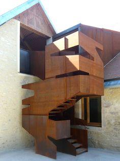 Remodelación de iglesia / Architectures Amiot-Lombard