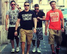 Love the Jersey boys. GTL baby!