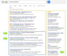 risultati google seo padova
