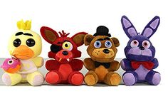 "4pcs Five Nights at Freddy's Inspired Plush 5"" Dolls Stuf... https://www.amazon.com/dp/B01IB8PPVQ/ref=cm_sw_r_pi_dp_x_rs8kybA3XXNJ0"