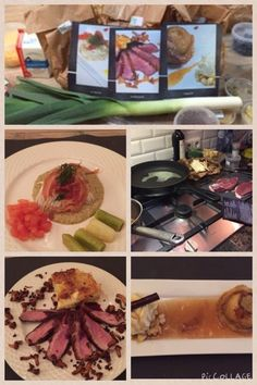 Heerlijk gekookt en gegeten!! @atablenu bedankt voor het gemak van alle boodschappen kant en klaar in één tas! Van een volle boodschappen naar een sterren diner!