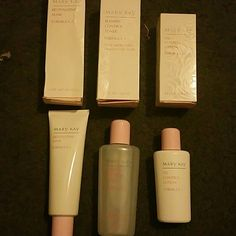 Oil control set Revitalizing mask for combo to oily skin Oil control toner  Oil control lotion mary kay Makeup