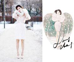 Художник-иллюстратор Nancy Zhang (Часть 2) | Fashion Illustrator Nancy Zhang. Part 2