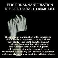 Narcissistic Abuse: Emotional Manipulation