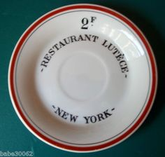 Restaurant Lutece - New York. The greatest French restaurant that ever was.