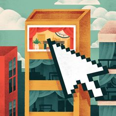 Online Marketplaces for Canadian Lawyer Magazine   Illustration by Jeannie Phan