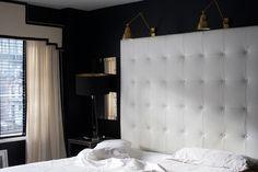 Sleep On It   Flaneur Bedding in the bedroom of Nicole Cohen's @Sketch42