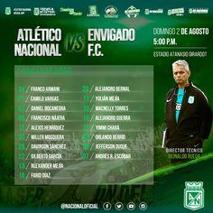 El DT definió los 18 concentrados para el partido de mañana vs Envigado.