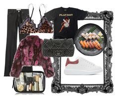 """HöstMys"" by vanessaolsson on Polyvore featuring IRO, LoveStories, Alexander McQueen, Pologeorgis and Chanel"