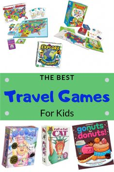 Looking for fun geography and map themed games and games that are perfect for travel? We have a list of the best games to entertain your kids on planes, in hotels or on long car trips! Games To Buy, Love Games, All Games, Traveling With Baby, Travel With Kids, Family Travel, Toddler Travel, Family Trips, Sequence Game