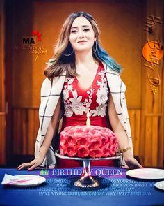 Birthday Wishes Cake, Birthday Pins, Birthday Bash, Girls Dp Stylish, Cute Girls, New Girl Pic, Independence Day India, Cute Muslim Couples, Beautiful Birthday Cakes