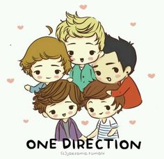 It is One Direction in cartoon form<3