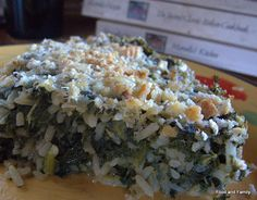 Italian Spinach Torta recipe from Marcella Hazan. Great main dish for vegetarians. Family Recipes, Family Meals, Torta Recipe, Crispy Roast Potatoes, Marcella Hazan, Spinach Rice, Sunday Roast, I Want To Eat, Orzo