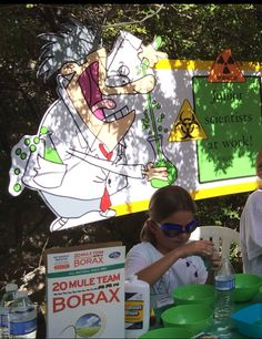 Magalie Sarnataro props Mad Science birthday party decor Mad Science, Birthday Party Decorations, Anime, Cartoon Movies, Anime Music, Animation, Anime Shows, Birthday Decorations