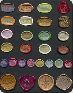 Any Design, Initial, Monogram, Logo Wax Adhesive Seals*