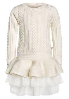 Billieblush Sukienka dzianinowa weiß