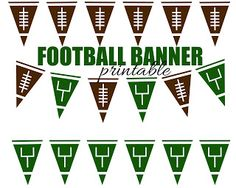 Football Subway Art Free Printable  This is such an awesome banner!! AND FREE!! from herecomesthesunblog.net  #secfootball101printables http://secfootball101.com